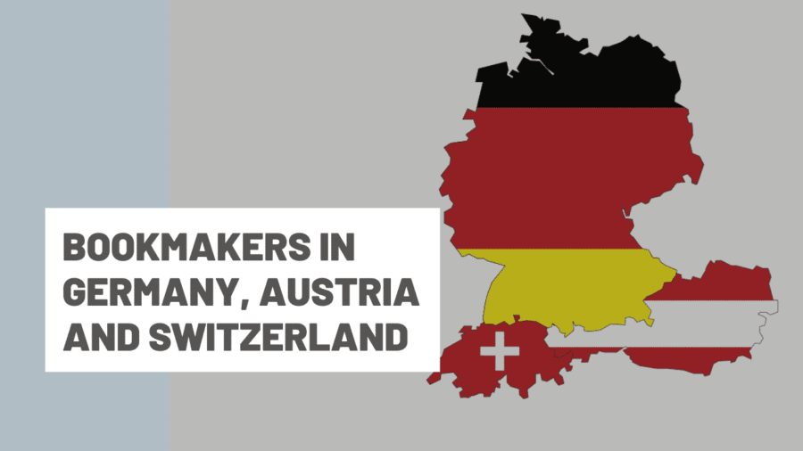 Bookmakers in Germany, Austria and Switzerland