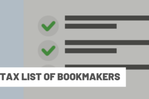 Tax List of Bookmakers